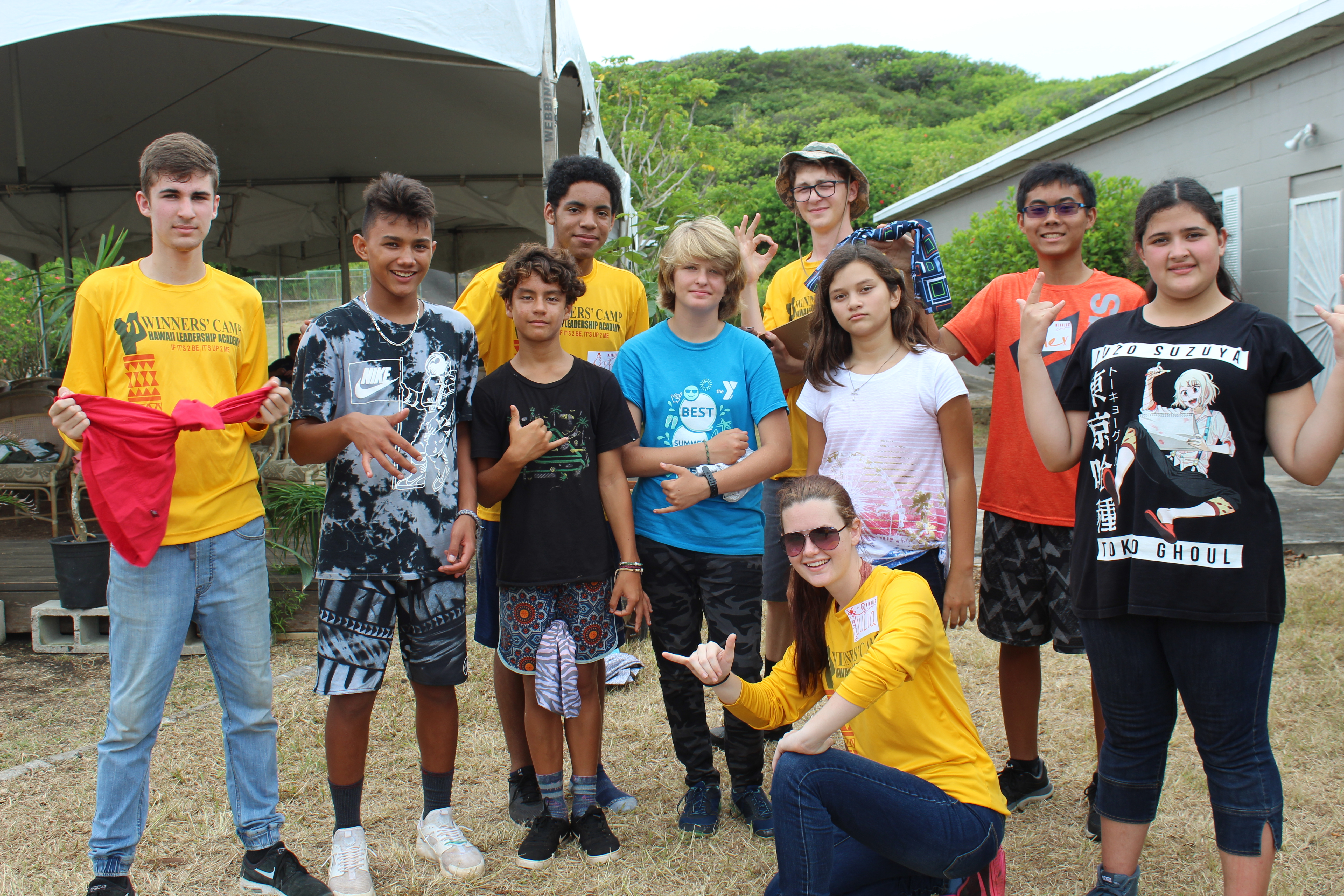 Winners' Camp - Hawai'i Leadership Academy